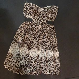 New leopard dress